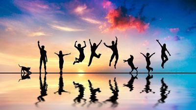 سالم خوشبختی .مشورت در هر زندگی رایزنی هم فکری نظرخواهی [ خوَش ْ / خُش ْ ب َ ] (حامص مرکب ) سعادت . نیک اختری . نکوطالعی . مقابل شقاوت . جد. نیک بختی . (یادداشت مؤلف ).