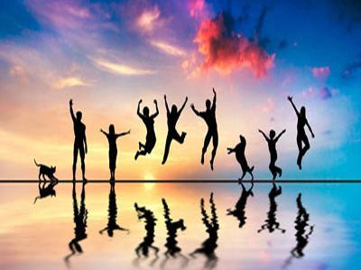 خوشبختی یعنی لذتی درونی