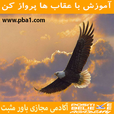 Eagle flight 07 - با عقاب ها پرواز کن - در آموزش با عقاب ها پرواز کن به مباحثی همچون:چرا باید با عقاب ها پرواز کرد؟; چقدر در زندگی دوست دارین عقاب باشین؟; رازتأثیرپذیری شما در زندگی; کمال همنشینی چگونه در شما اثر می کند؟; چگونه افراد مناسب زندگیمونو انتخاب کنیم؟; همواره باحرفهایها ارتباط داشته باشید; الگوبرداری از افراد موفق در فضای مجازی; باهم بررسی کردیم.